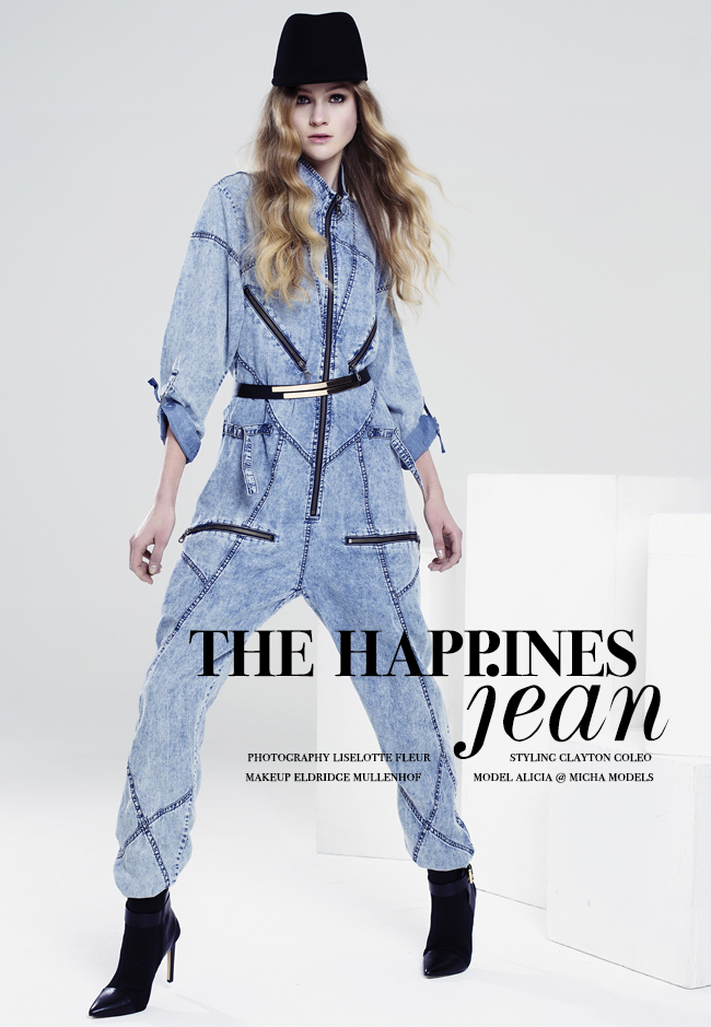 denim fashion editorial