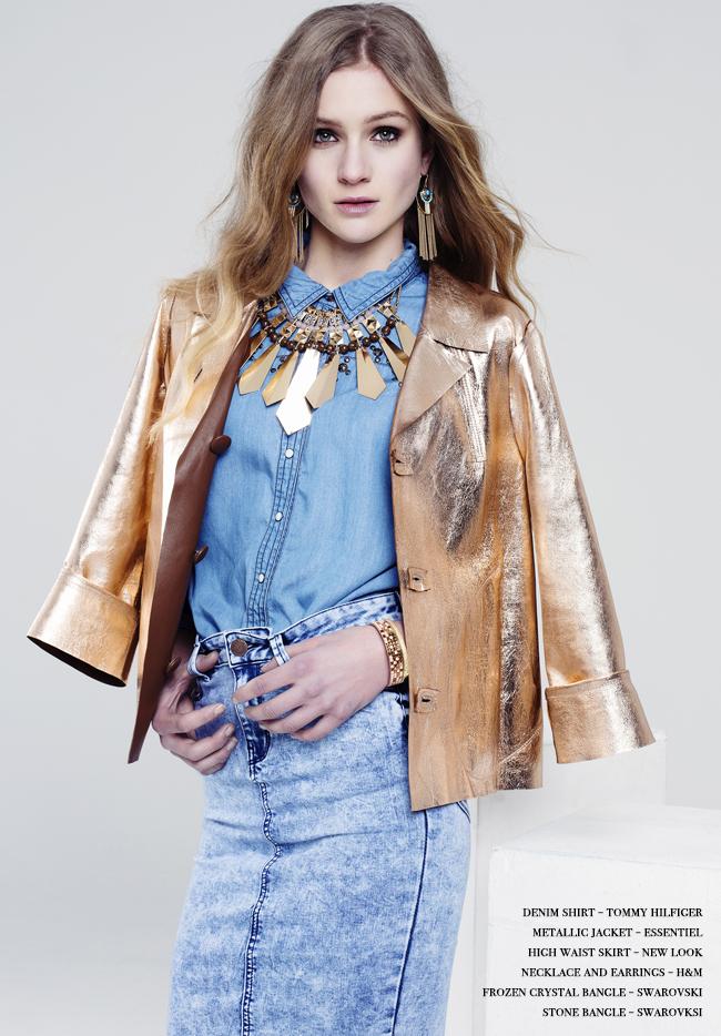 denim fashion editorial