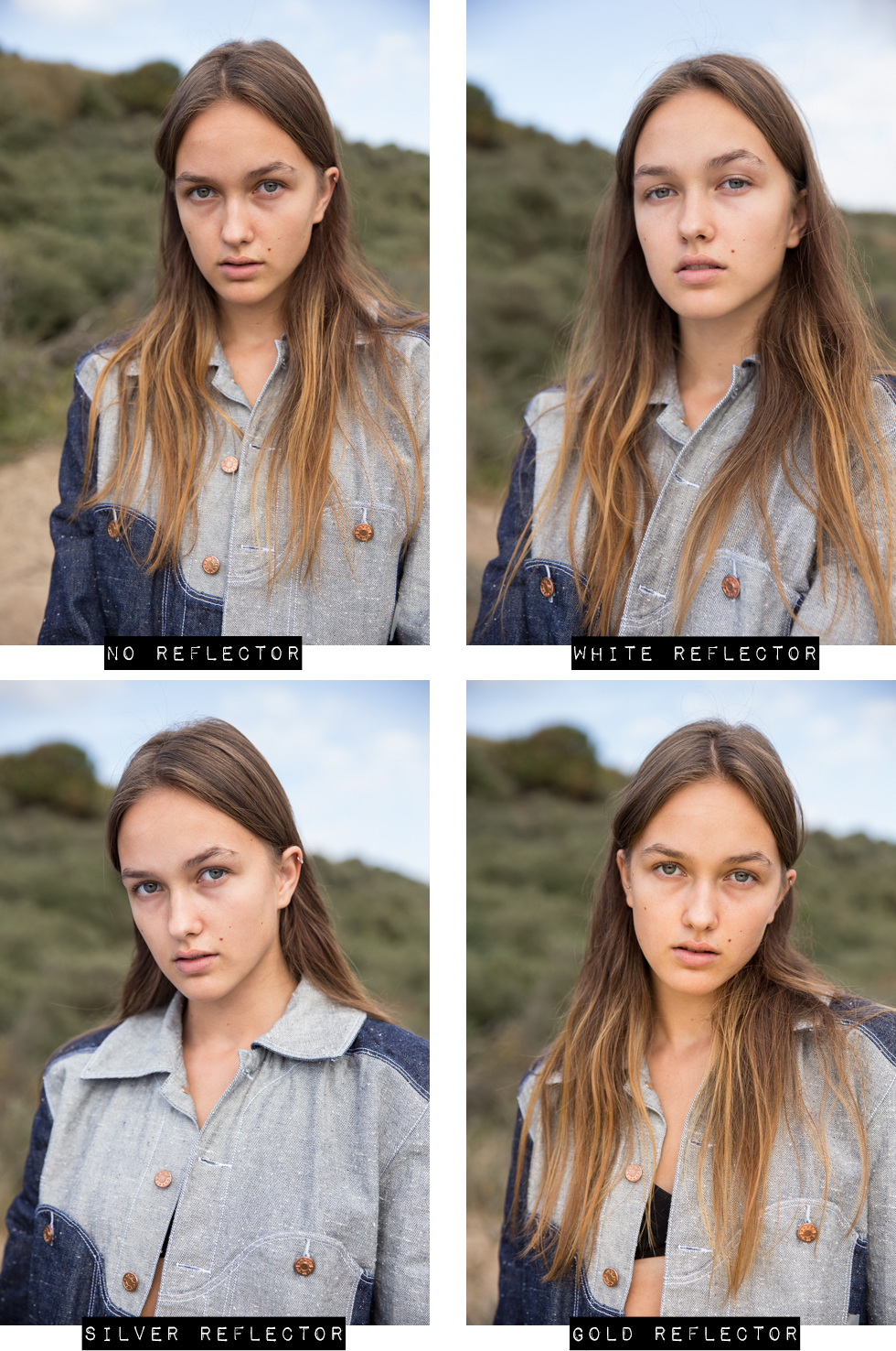 How To Use A Reflector For Better Portraits O The Fashion Camera