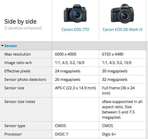 Lenses On Crop Vs Full Frame Cameras The Fashion Camera