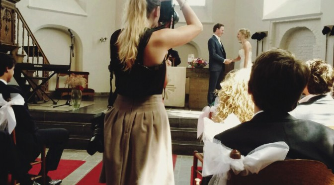 Behind The Scenes - Wedding • The Fashion Camera